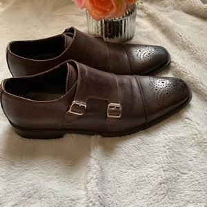 To Boot New York men chocolate leather shoes, 91/2